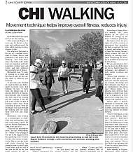Keith McConnell and Chi Walking in NW Boomer & Senior News